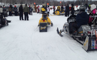 Tip-up Town Snowmobile Races
